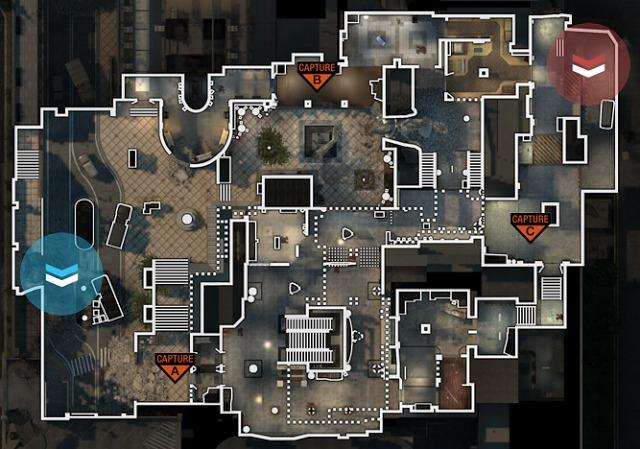 [MW3] ドミネーションで役立つ、離れた場所から狙ったことろにグレネードを落とす方法 Arkaden編