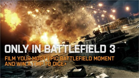 [BF3] Only in Battlefield 3 動画コンテスト、大賞受賞作3本が決定!