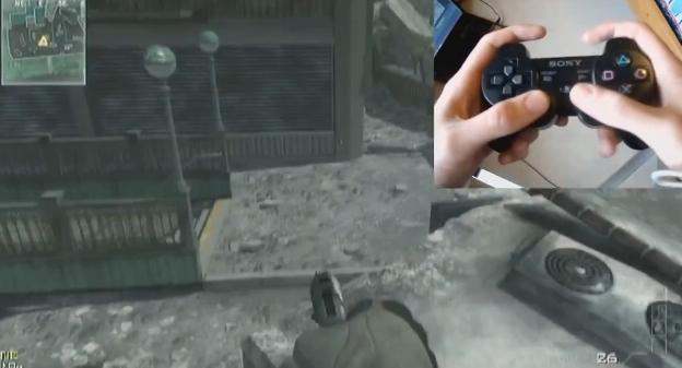 [MW3] グリッチ(裏技):ジャンプスポットへの行き方(PS3コントローラ操作ガイド付き)