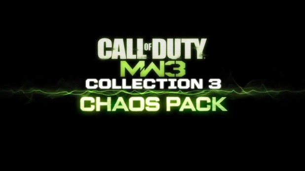[MW3] DLC:『COLLECTION 3: CHAOS PACK』9月13日配信!(PS3&PC)
