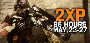 BF3 MAY 2XP