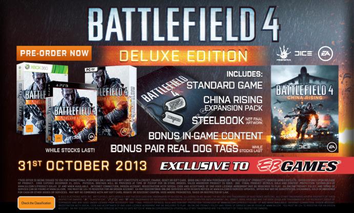 "BATTLEFIELD 4:実物ドッグタグ同梱の""デラックスエディション""発売、キャンペーンには上海が登場など"