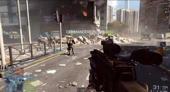 BATTLEFIELD 4:マルチ64人対戦動画公開!司令官モード復活、ラストのビル崩壊は必見