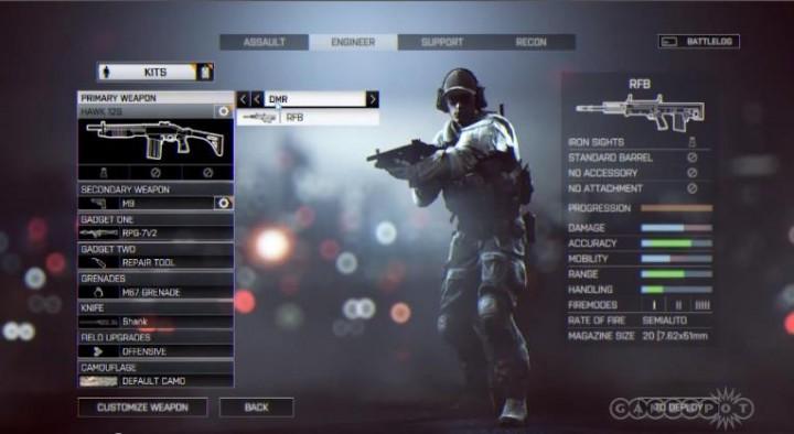 BATTLEFIELD 4:マルチ動画大量公開。新武器やクラス、ガジェット解説も(動画5本)