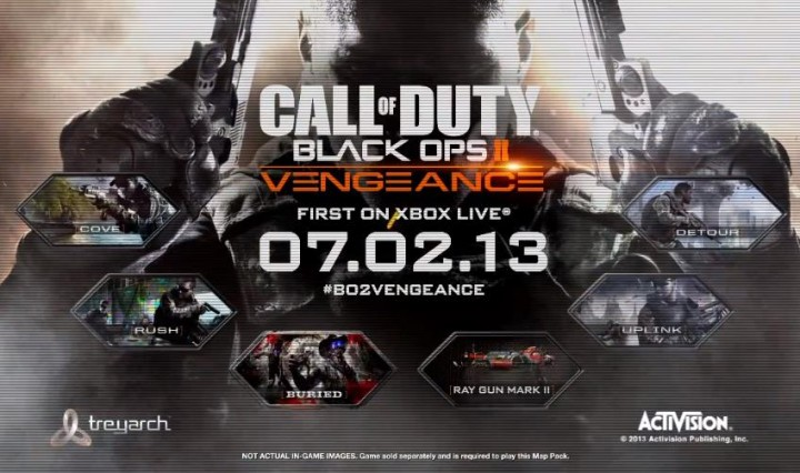 "CoD:BO2:人気マップのリメイクを含む、第3弾DLC""VENGEANCE""スクリーンショット"