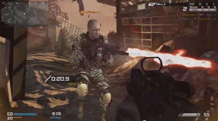 CoD:ゴースト:キャンプ不可の新モード「Cranked」プレイ動画