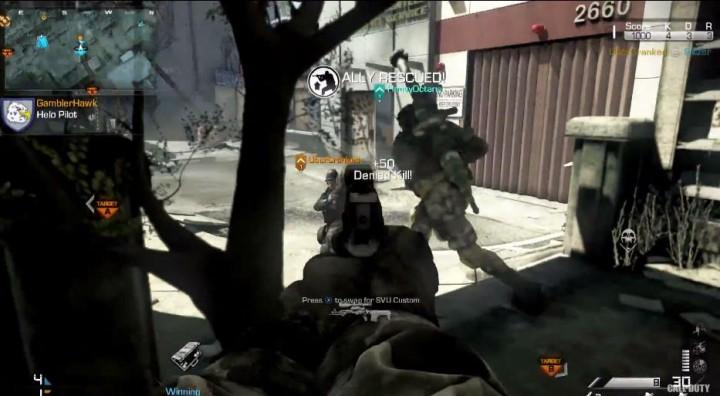CoD:ゴースト:マルチプレイヤー詳細やトレイラー公開!新武器、ストリーク、女性兵士など