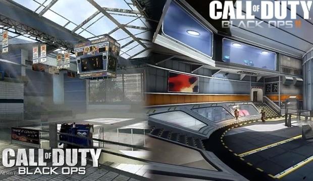 """CoD:BO2:DLC""""Apocalypse""""のリメイクマップ、新旧比較画像"""
