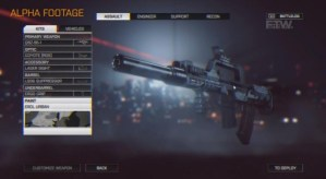 Battlefield 4 Weapon Customisation