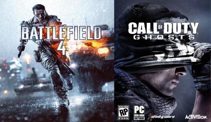 どっちがおもしろい?『Call of Duty: Ghosts』vs『BATTLEFIELD 4』対決動画(2本)