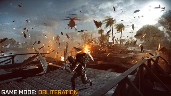 "BATTLEFIELD 4:β版へゲームモード""Obliteration""追加!"