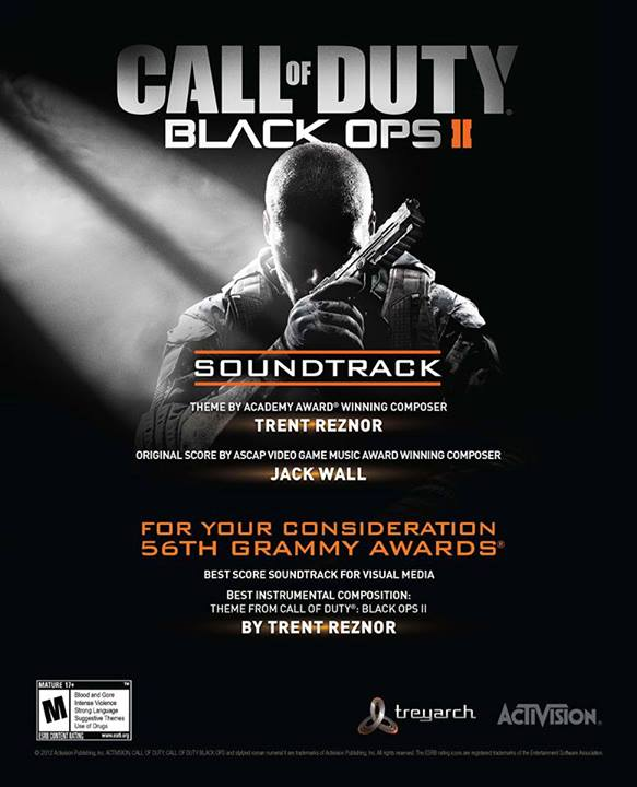 Call of Duty Black Ops 2サウンドトラック