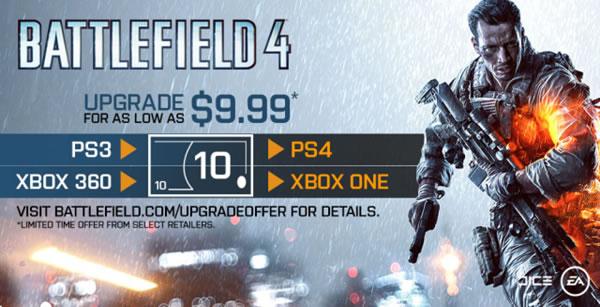 BATTLEFIELD 4:PS3からPS4へアップグレードできるプログラムの詳細を公開、期限は3/28