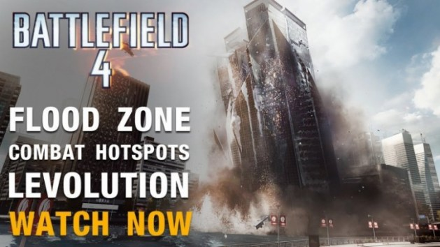 "BATTLEFIELD 4:新マップ""Flood Zone""のコンクエや新モードプレイ動画(3本)"