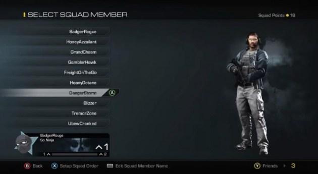 Squad-Character