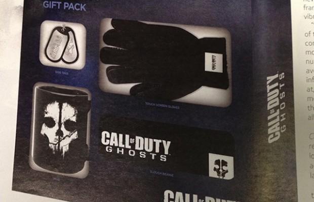 「Call of Duty: Ghosts ギフトパック」なる公式グッズが登場