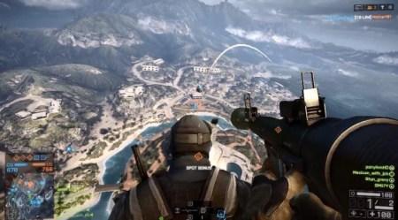 BATTLEFIELD 4:これがボートの真の力だ!空飛ぶボートで戦闘機を撃墜するおもしろ動画
