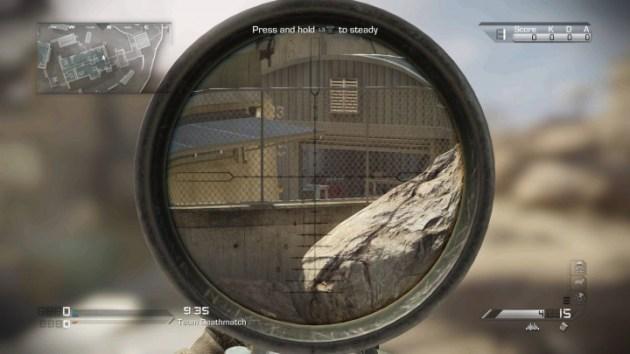 "CODゴースト:PS4の""シェア機能""で撮影された高解像度スクリーンショット"