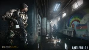 Xbox One版『BATTLEFIELD 4』ではKinectでリーンが可能