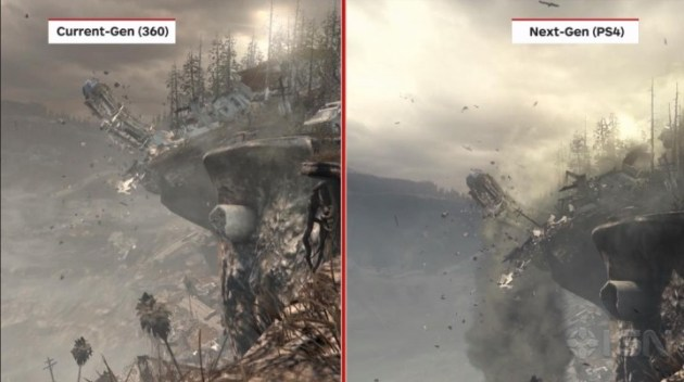 Call of Duty Ghosts - Current-Gen vs Next-Gen5