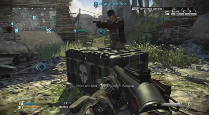 """CoD: ゴースト:ランダム物資が投下されるマルチ新モード""""Hunted(ハンテッド)""""ゲームプレイ動画"""