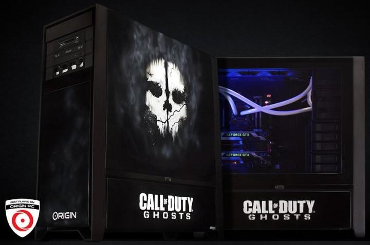 CoD: Ghosts仕様の超ハイスペックPCプレゼント企画(メモリ32GB、価格50万円)