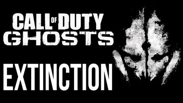 """CoD: ゴースト:エイリアンモード""""Extinction"""""""