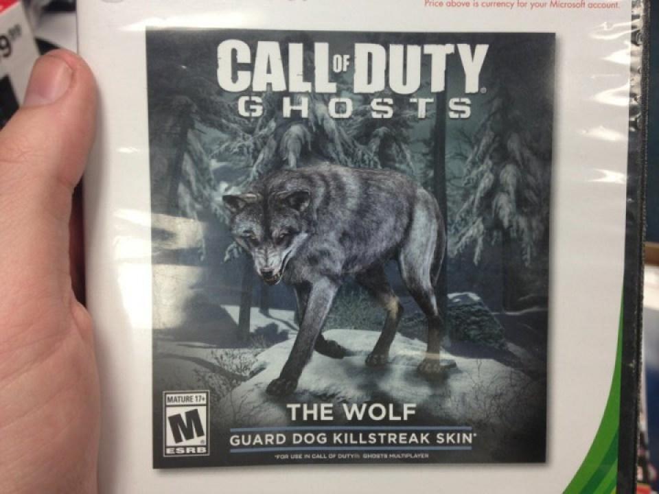 """CoD Ghosts ガードドッグのスキン""""The Wolf"""""""