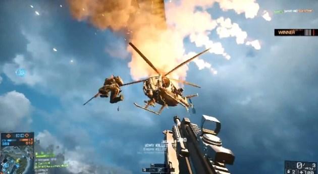 BATTLEFIELD 4:今日もバトルフィールドの空は騒がしい、スーパープレイTOP5動画!