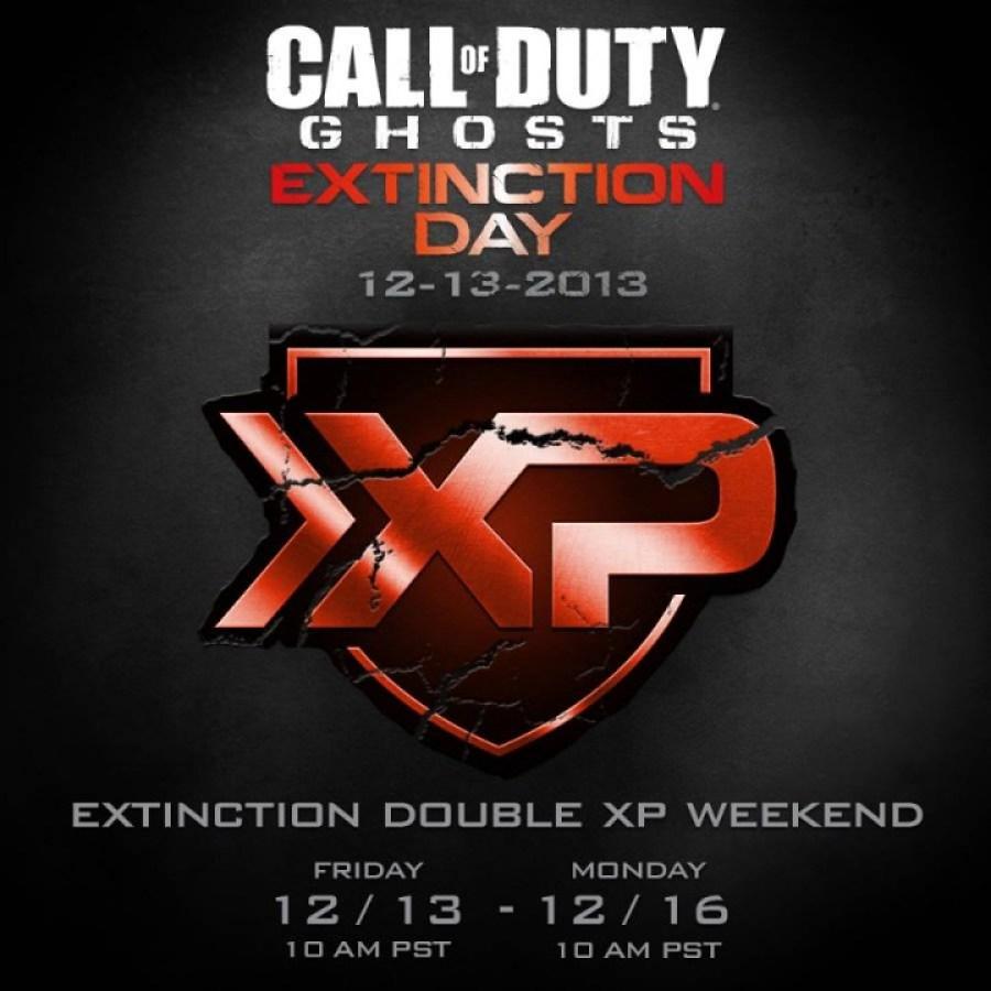 """CoD ゴースト 今週末にExtinctionモードの経験値が2倍になる""""Extinction Day"""""""