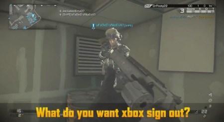 CoD ゴースト彼の名前を口にしてはいけない!XboxOne版の焦るいたずら動画