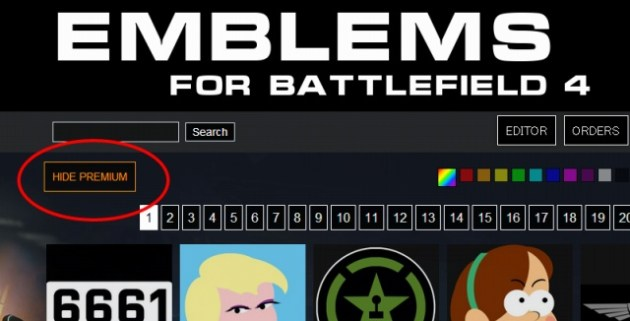 Emblems for Battlefield 4   Hardline
