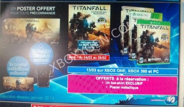"""Titanfall βテストが""""2/14 – 2/19""""と書かれたポスターがリーク (2)"""