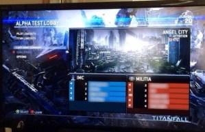 Titanfall マルチプレイのロビー画面の画像がリークされる