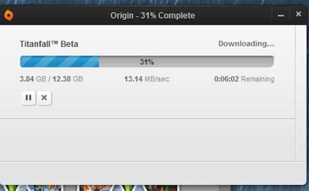 タイタンフォール:PC版βのダウンロードサイズは12.3 GB