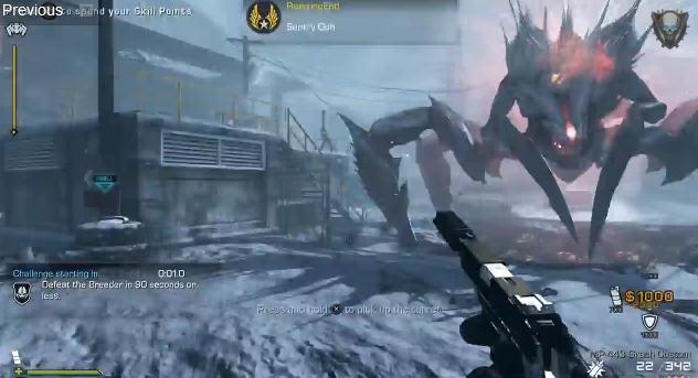 CoD: ゴースト : Extinction「Nightfall」を5レリックでクリアする動画