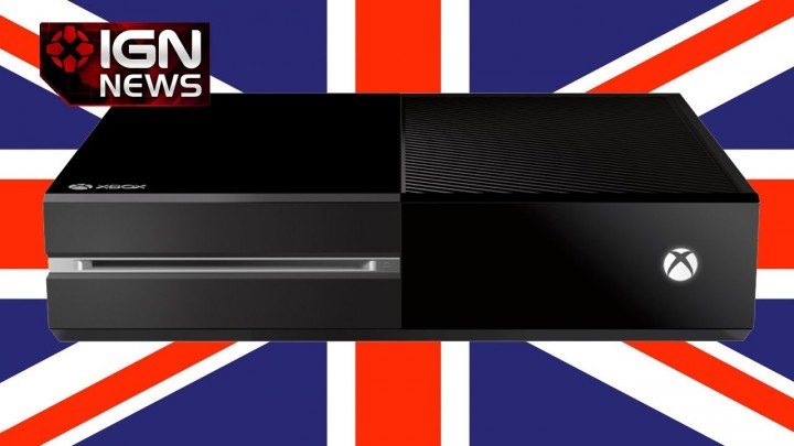 Xbox One が早くも値下げ、英国で£399に