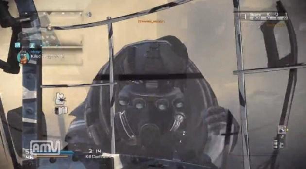 CoD ゴースト:盾 vs ジャガーノートリーコン2体と連戦動画