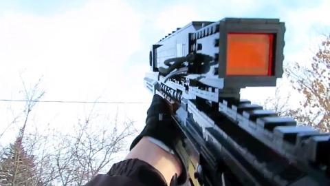 """CoD: ゴースト: レゴで作られたDLC武器""""Maverick""""のクオリティが凄い!"""