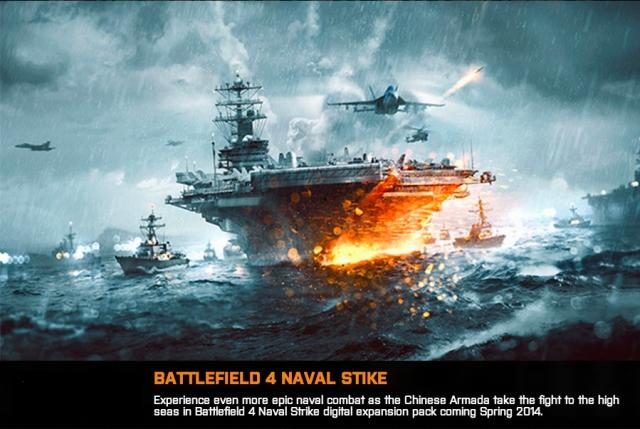 """BATTLEFIELD 4:第三弾DLC""""Naval Strike""""のディティール公開。巨大空中要塞が復活"""