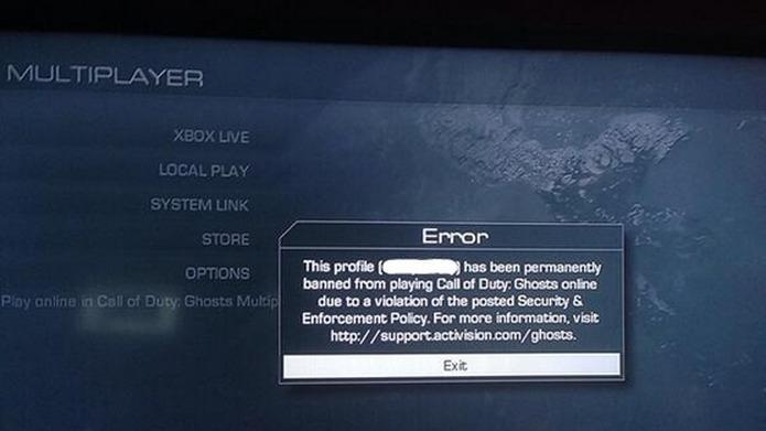 CoD: ゴースト:大勢のPSユーザーがアカウントBAN、身に覚えがないというプレイヤーが続出
