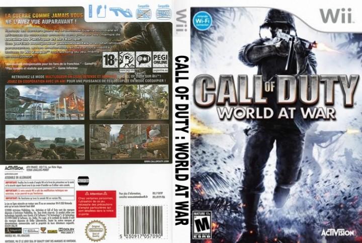 任天堂、Wii/DS『Call of Duty』シリーズのサーバー停止リスト発表(5/20終了)