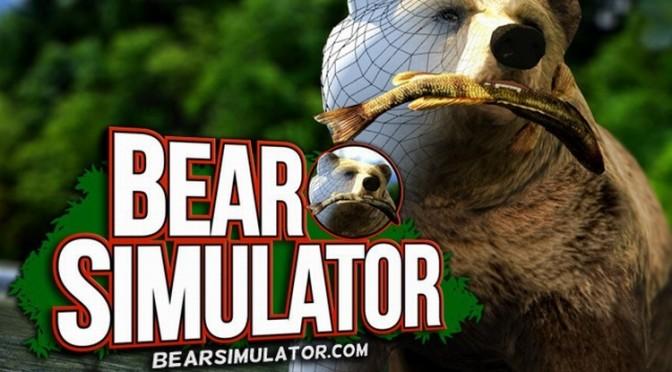 試されるゲーマーの動物愛。森のクマになりきって暮らす『Bear Simulater』が登場
