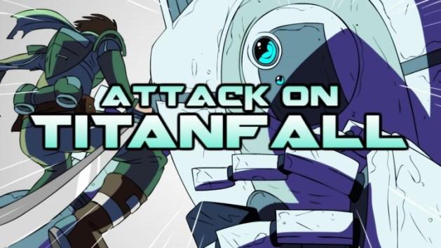 アニメ:『進撃のタイタンフォール』(Attack on Titanfall)