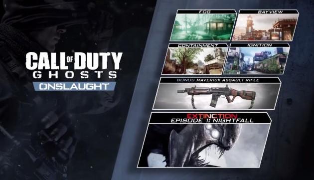 COD ゴースト PS3のDLC第一弾Onslaught配信日が319に決定!