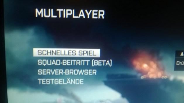 (噂) Battlefiled 4 : スクワッドでのゲームジョインが復活か?