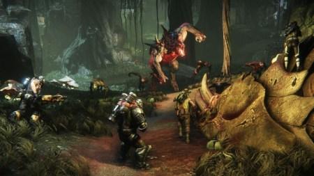 """Evolve:飛行タイプのモンスター""""Kraken""""など様々な要素を確認できるインタビュー動画が公開"""