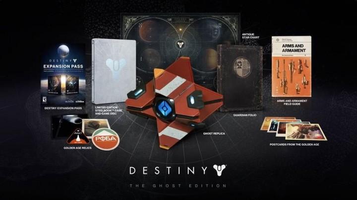 Destiny:売れすぎ?限定版のGhost Editionが在庫不足、予約受付を停止