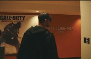 CoD:AW : DJ AfrojackがSHGを訪問。ちらっと写った画面はマルチプレイのものか?