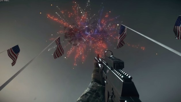 Battlefield 4 : RPGから花火!? CTEで複数の「独立記念日イースターエッグ」発見